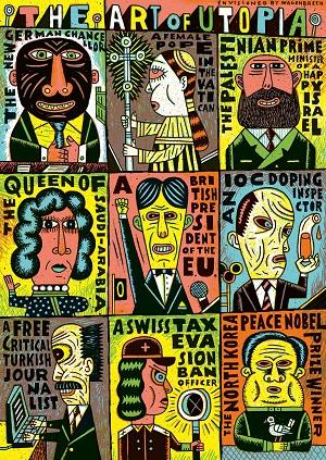 'The Art of Utopia' ist ein Gewinner der 100 besten Plakate aus der DACH-Region (Foto: Henning Wagenbreth/100 beste Plakate e.V.)