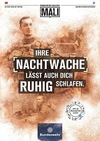 Die bisherigen Arbeitgeberkampagnen der Bundeswehr wie 'Mali' oder 'Die Rekruten' wurden vielfach ausgezeichnet (Foto: Castenow)