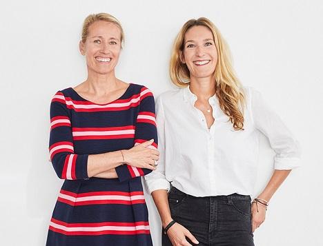 Nicole Weschke und Ann-Sophie Altmeier teilen sich ihre Führungs-Rolle in einem auf flexible Teilzeit ausgelegten Jobshare-Model (Foto: Crossmedia)