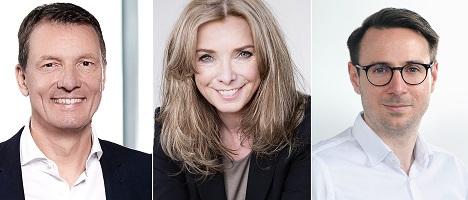Der erstmals berufene Candylabs-Beirat besteht aus Eric Schott, Ute Poprawe und Stephan Rathgeber (v.l.) (Foto: Candylabs)