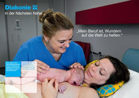fischerAppelt entwickelt neue Kampagen für die Diakonie Bild
