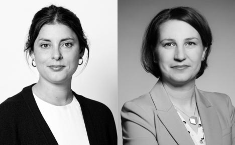 Claudia Díaz (links) und Katrin Münch-Nebel sind neu bei ressourcenmangel an der Panke (Foto: ressourcenmangel)