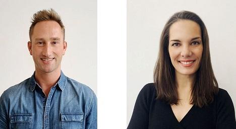 Daniel Bremer und Eva Dittberner verstärken das Schipper Company-Team als Account Director und Management Supervisor. (Foto: Schipper Company)