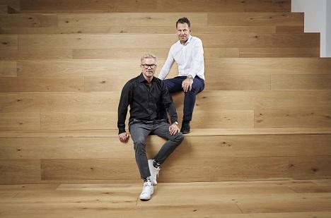 1998 gründeten Johannes Plass (hinten) und Heinrich Paravicini (vorne) Mutabor (Foto: Michael Philipp Bader)
