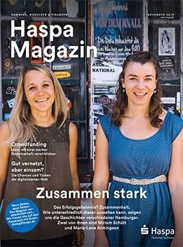 Wird eingestellt: Das 'Haspa Magazin'