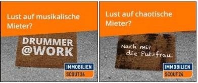 ImmobilienScout24 wirbt im Internet mit humorvollen Motiven (Foto: ImmobilienScout24)