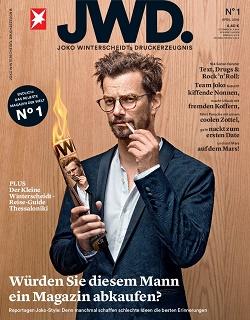 Gruner + Jahr führt neue Zeitschriftenmarke 'JWD' von Joko Winterscheidt ein (Quelle: Gruner + Jaht)