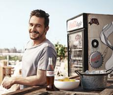 James Franco wirbt erneut für Coke light - Kampagne stammt von Ogilvy & Mather und MediaCom Bild