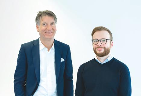 Das neue Führungsduo: Inhaber Klaus P. Arens (l.) und sein Co-Geschäftsführer Oliver Vornholt (Fotos: Kaiserberg)