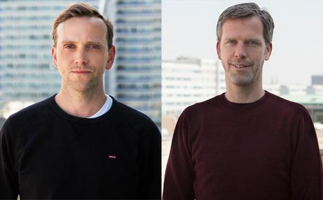 Patrick Klebba (links) und Stephen Kimpel sind neu bei Voltage Berlin (Foto: DDB Voltage Berlin)