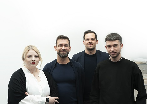 Miriam Stanitzek, Frank Reisel, Christian Schiller und Axel Wiegand (v.l.) (Foto: Palmer Hargreaves)