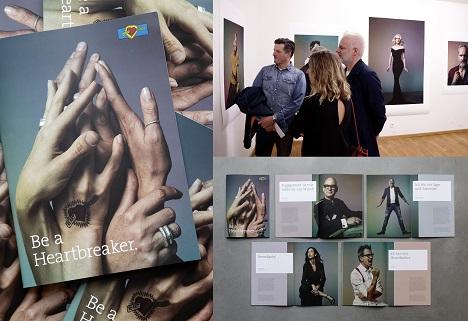 Die umfangreiche Imagekampagne mündet in einer Ausstellung im Düsseldorfer Stadtmuseum (Foto_ Kunst und Kollegen)