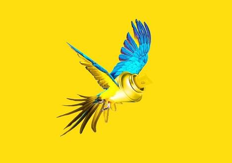Bloom entwickelte auch knallfarbige Design-Elemente für die Kommunikation der neuen B2B-Marke (Foto: Janoschka)