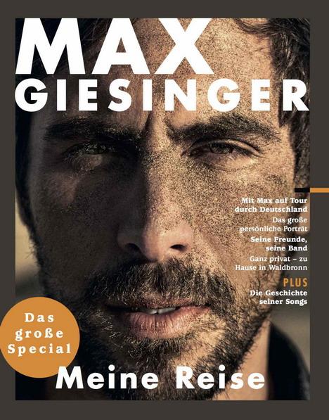 gruner jahr und bmg launchen fanmagazin ber max giesinger. Black Bedroom Furniture Sets. Home Design Ideas