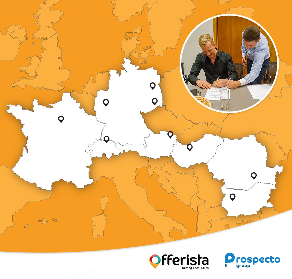 Offerista kauft die Prospecto Group und weitet die Reichweite der Handelsmarketingplattform aus.