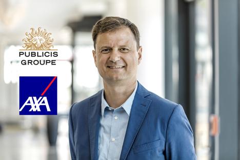 Frank-Peter Lortz kann die Zusammenarbeit mit AXA ausbauen: Deutschland gehört zu den Schlüsselmärkten, in denen Publicis auch Media-Strategie- und Einkauf übernimmt (Foto: Publicis)