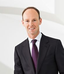 Konzern-Chef Dr. Thomas Rabe ist zuversichtlich