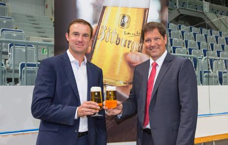 Bitburger offizieller Premium Partner der SAP Arena  Bild