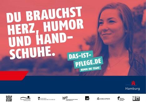 """Unter dem Titel """"Das ist Pflege!"""" berichten Pfleger auf authentische Weise aus ihrem Arbeitsalltag (Foto: TBWA\ Hamburg)"""