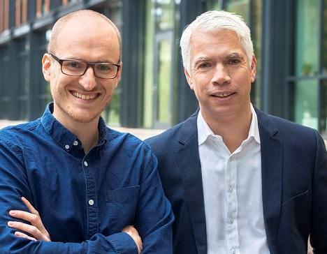 Henning Nieslony (l.) und Henning Tewes fungieren ab sofort als neue Co-Geschäftsleiter von TV Now (Foto: Mediengruppe RTL Deutschland)