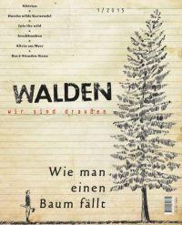 Cover-Entwurf für die geplante Zeitschrift 'Walden'