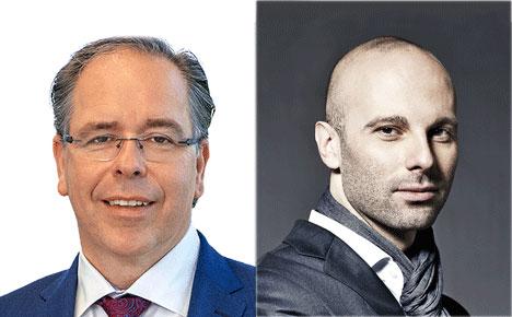 Dr. Frank Wartenberg (IQVIA) und Dr. Arno Wilhelm (Jägerr Health Group) sind ab sofort Kollegen - Foto: IQVIA / Die Jäger