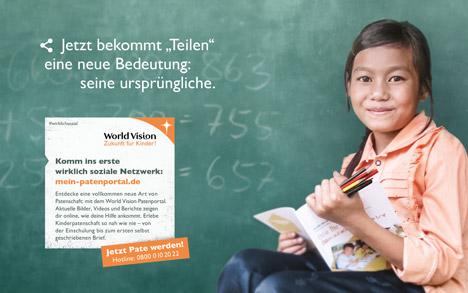 Plantage Berlin setzt Kampagne für World Vision um  Bild