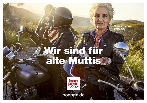 bonprix präsentiert die erste Kampagne von der neuen Lead-Agentur 180 Kingsday (Foto: bonprix)