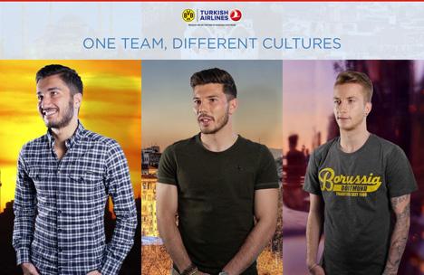BVB-Profis wie Nuri Sahin, Milos Jojic und Marco Reus sind die Gesichter der Kampagne 'One team, different cultures' (Foto:Delasocial)