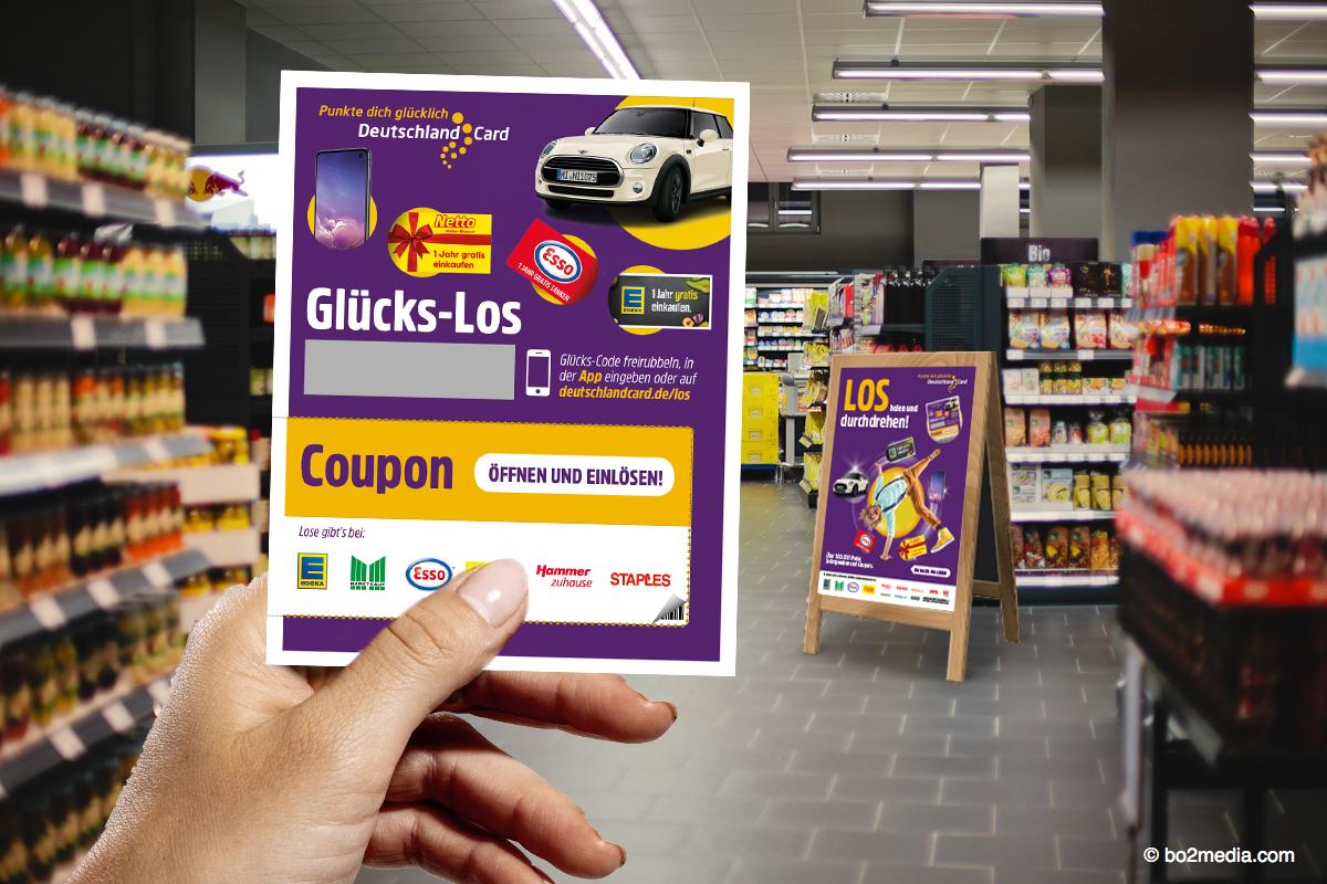 Deutschland Card Glücks Los