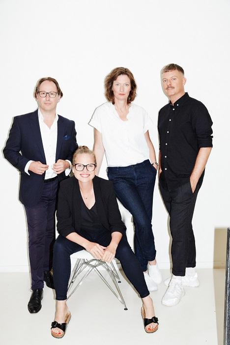 Michael Jacobs, Mieke Haase (sitzend), Sabine Cole und Maik Beimdieck (Foto: Loved)