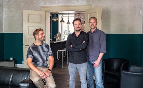 New Work-Pioniere (v.l.): Patrick Fell, Ralph Schumann und Andreas Ollmann (Foto: Ministry)