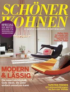 39 sch ner wohnen 39 startet mit 120 prozentigem anzeigenplus ins jubil umsjahr. Black Bedroom Furniture Sets. Home Design Ideas