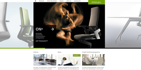 cybay relauncht online portal des b rom belherstellers wilkhahn. Black Bedroom Furniture Sets. Home Design Ideas